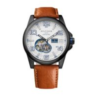 LEATHER STRAP CASUAL WATCH $225.00