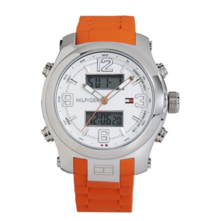 Image for ORANGE SILICONE STRAP from Tommy Hilfiger USA