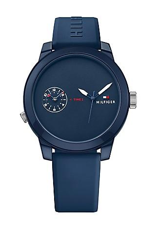 men s watches cufflinks tommy hilfiger usa tommy hilfiger denim navy watch