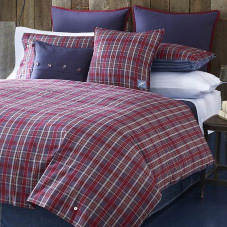 Image for BEAR MOUNTAIN PLAID COMFORTER SETS from Tommy Hilfiger USA