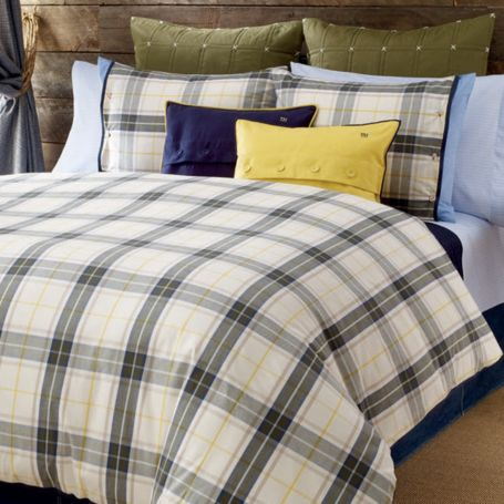 Image for LAKE GEORGE PLAID COMFORTER SETS from Tommy Hilfiger USA