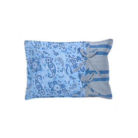 Image for PIECED PAISLEY DECORATIVE PILLOW from Tommy Hilfiger USA
