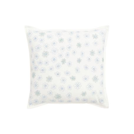 Image for HYDRANGEA DECORATIVE PILLOW 18X18 from Tommy Hilfiger USA