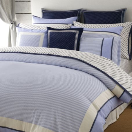 Image for TH HILFIGER STRIPE  COMFORTER SETS from Tommy Hilfiger USA