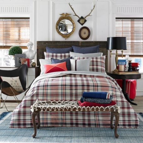 Image for HILFIGER VINTAGE PLAID COMFORTER from Tommy Hilfiger USA