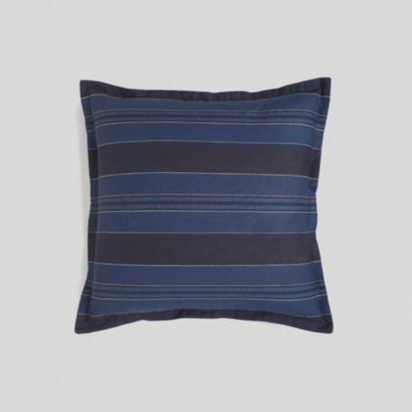 Image for WESTERLY INDIGO STRIPE 18X18 DECORATIVE PILLOW from Tommy Hilfiger USA