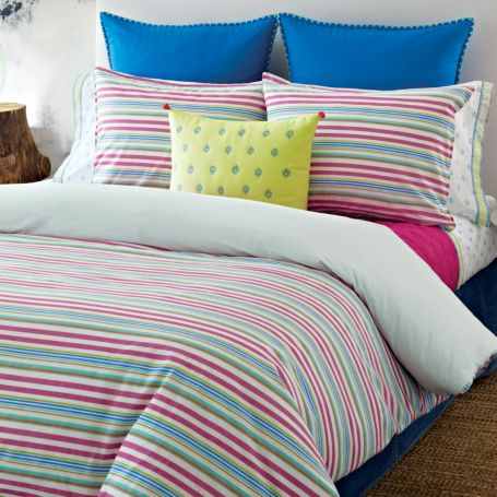 Image for PRIYA STRIPE COMFORTER SETS from Tommy Hilfiger USA