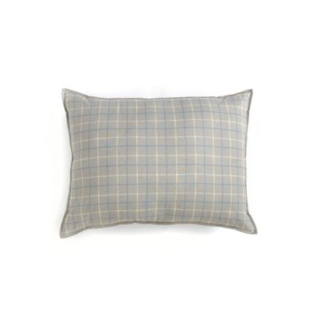 Image for REVERSIBLE WINDOWPANE PLAID BREAKFAST PILLOW from Tommy Hilfiger USA