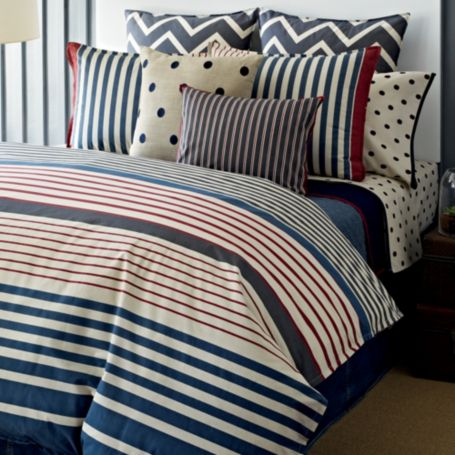 Image for READING ROOM COMFORTER SET from Tommy Hilfiger USA