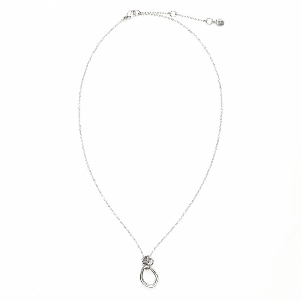 Image for CHAIN LINK PENDANT NECKLACE from Tommy Hilfiger USA