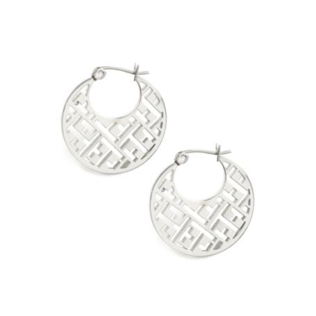 Image for TH LOGO CUT OUT EARRING from Tommy Hilfiger USA
