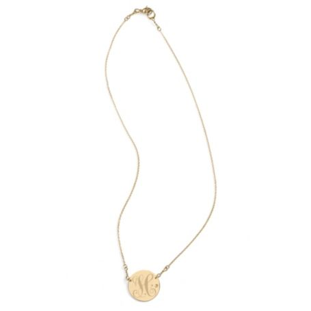Image for GOLD PLATED TH SIGNET PENDANT from Tommy Hilfiger USA