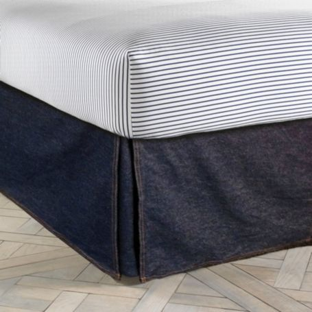 Image for ALL AMERICAN DENIM BEDSKIRT from Tommy Hilfiger USA