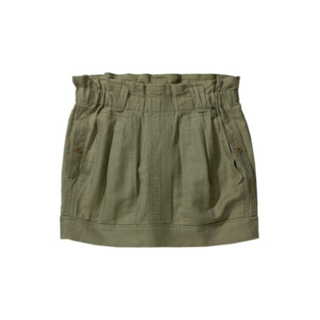 Image for LINEN CANVAS PAPERBAG SKIRT from Tommy Hilfiger USA