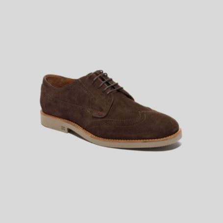 Image for SUEDE BROGUE SHOE from Tommy Hilfiger USA
