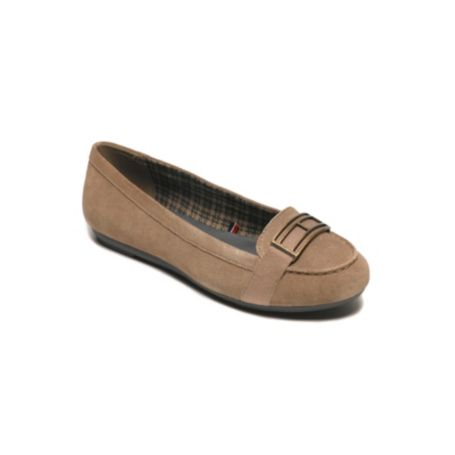 Image for SUEDE FLAT from Tommy Hilfiger USA