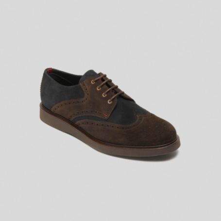 Image for LACE UP 2 TONE SUEDE OXFORD from Tommy Hilfiger USA