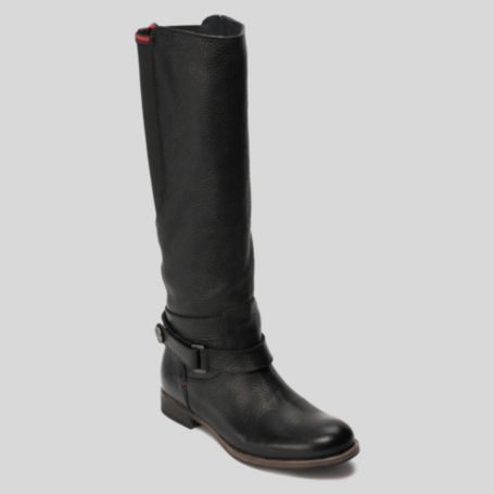 Image for LEATHER BOOT WITH ELASTIC from Tommy Hilfiger USA