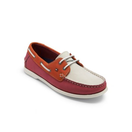Image for LEATHER BOAT SHOE from Tommy Hilfiger USA