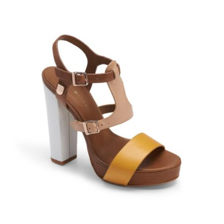 Image for OPEN TOE STRAP HEEL from Tommy Hilfiger USA