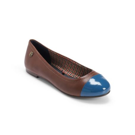 Image for COLORBLOCK TOE BALLET FLAT from Tommy Hilfiger USA