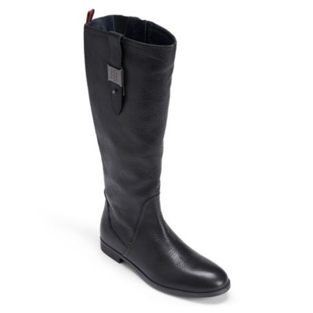 Image for LEATHER TH BUCKLE BOOT from Tommy Hilfiger USA