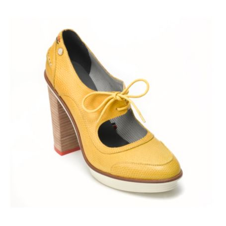Image for LEATHER TIE PUMP from Tommy Hilfiger USA