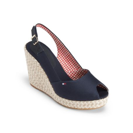 Image for PEEP-TOE ESPADRILLE from Tommy Hilfiger USA