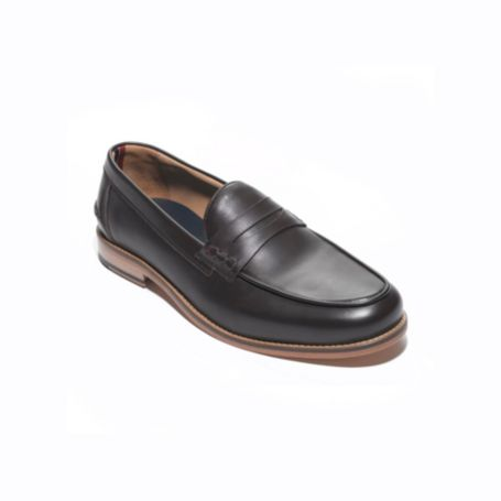 Image for LEATHER TRIM DETAIL PENNY LOAFER from Tommy Hilfiger USA