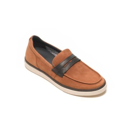 Image for LEATHER SLIP ON SHOE from Tommy Hilfiger USA