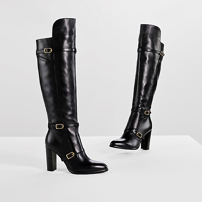 LEATHER OVER-THE-KNEE BOOT GIGI HADID | Tommy Hilfiger