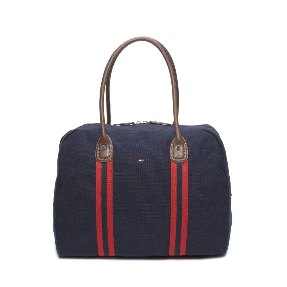 Image for CANVAS TRAVEL TOTE from Tommy Hilfiger USA