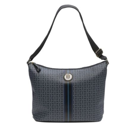Image for COATED CONVERTIABLE SHOULDER BAG from Tommy Hilfiger USA