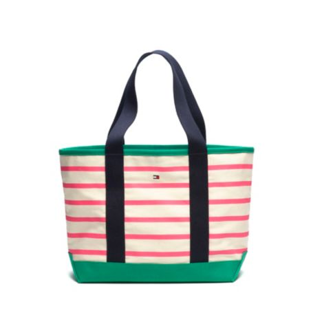 Image for PRINTED STRIPE TOTE from Tommy Hilfiger USA