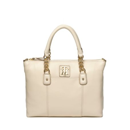 Image for LEATHER CONVERTIBLE SHOPPER from Tommy Hilfiger USA