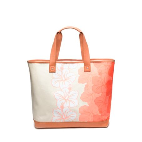 Image for HIBISCUS FLORAL TOTE from Tommy Hilfiger USA