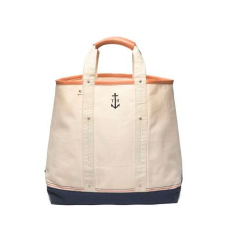 Image for ANCHOR CANVAS TOTE from Tommy Hilfiger USA
