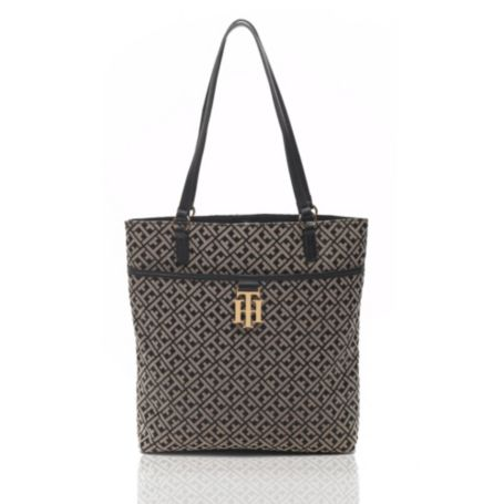 Image for TH MONOGRAM TOTE from Tommy Hilfiger USA