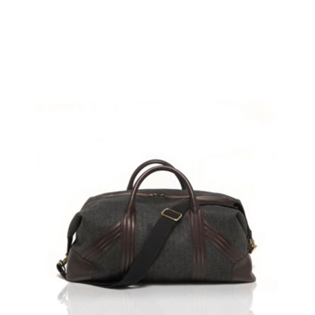 Image for WOOL HERRINGBONE WEEKENDER DUFFLE from Tommy Hilfiger USA