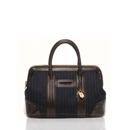 Image for PENNY LOAFER CHALK STRIPE DOCTOR BAG from Tommy Hilfiger USA
