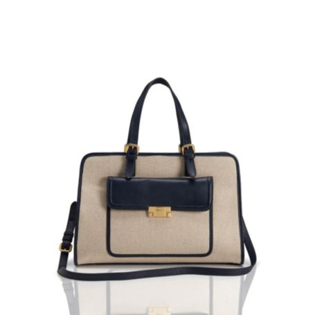 Image for CANVAS SQUARE TOTE from Tommy Hilfiger USA