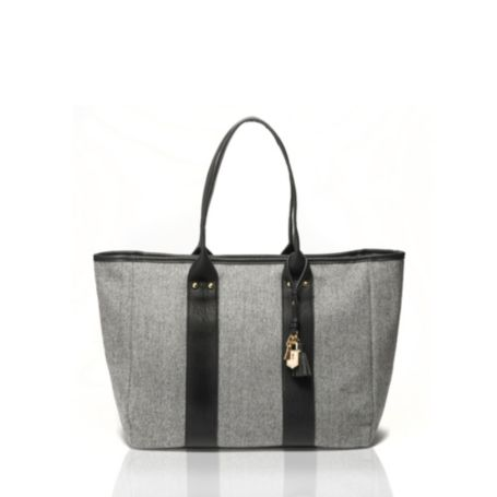 Image for HERRINGBONE TOTE from Tommy Hilfiger USA