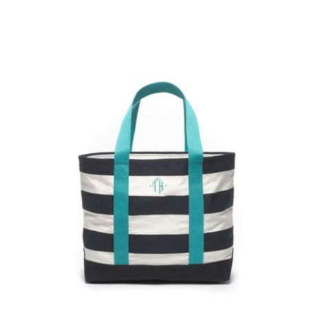 Image for LARGE RUGBY STRIPE TOTE from Tommy Hilfiger USA