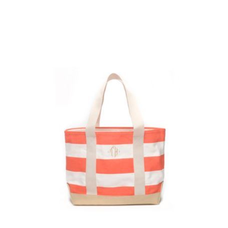 Image for SMALL RUGBY STRIPE TOTE from Tommy Hilfiger USA