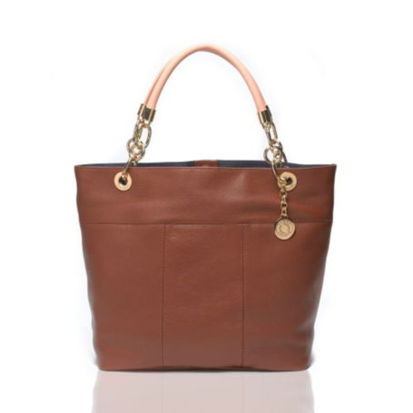 Image for HYANNIS TOTE - CHESTNUT from Tommy Hilfiger USA