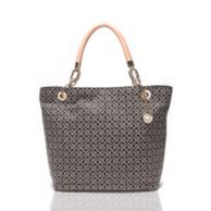 SIGNATURE REVERSIBLE TOTE $128.00