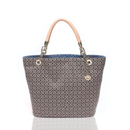 Image for SIGNATURE REVERSIBLE TOTE from Tommy Hilfiger USA