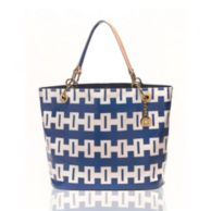 SIGNATURE COATED CANVAS TOTE $118.00
