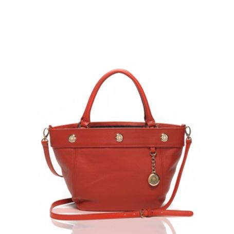 Image for PEBBLED LEATHER CONVERTIBLE SHOPPER from Tommy Hilfiger USA