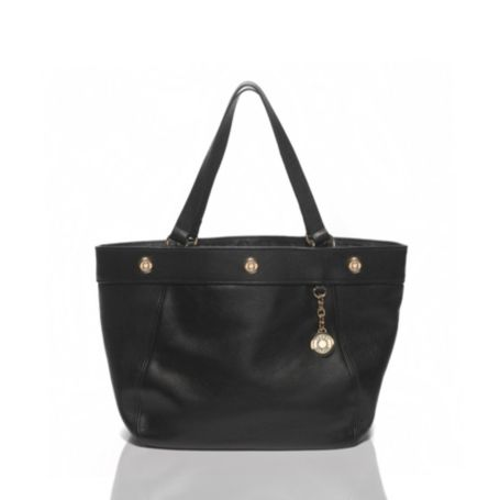 Image for PEBBLED LEATHER TOTE from Tommy Hilfiger USA